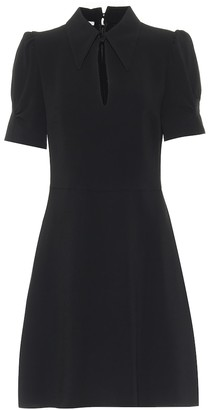 Stella McCartney Blair keyhole cady minidress
