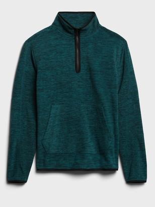 Banana Republic Arctic Fleece Half-Zip Sweatshirt