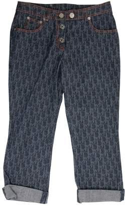 Christian Dior Navy Denim - Jeans Jeans