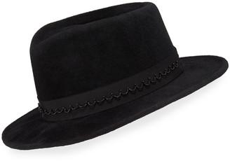 Gigi Burris Millinery Georgia Rabbit Felt Fedora Hat