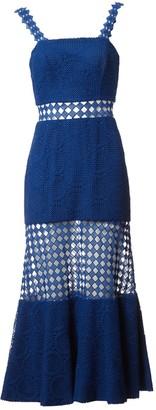 Costarellos Blue Cotton Dresses