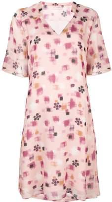 Kristina Ti geometric print mini dress