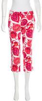 Kate Spade Printed Straight-Leg Pants w/ Tags