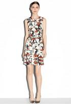 Milly Gardenia Print Coco Dress