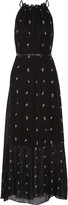 Karl Lagerfeld Printed chiffon maxi dress