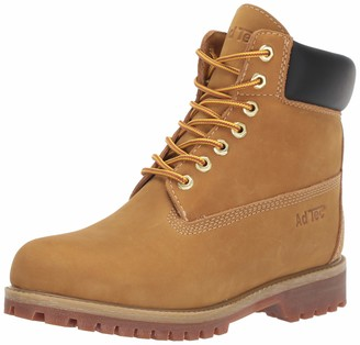 "AdTec 6"" Nubuck Boots for Women Industrial Grade Steal Toe"