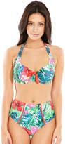 Pour Moi? Pour Moi Jungle Fever Halter Bikini Top