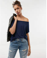 Express off the shoulder london tee