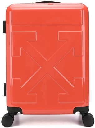 Off-White Quote carry-on suitcase