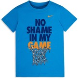 Nike Boys' No Shame in My Game Tee - Sizes 2-7