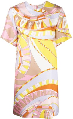 Emilio Pucci Wally print shift dress