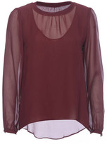 Gold Hawk - Sheer Double Layer Top