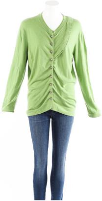 Louis Vuitton Green Cashmere Knitwear