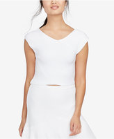 Rachel Roy Ribbed Crop Top, Only at Macy's