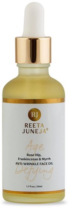 Reeta Juneja Age Defying Rose Hip Frankincense & Myrrh Anti-Wrinkle Face Oil