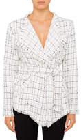 IRO Quinet Wrap Tweed Jacket