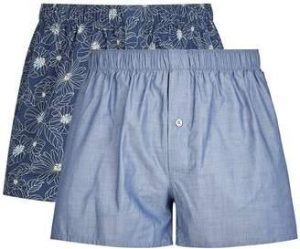 Hanro Cotton Boxer Shorts (Pack of 2)