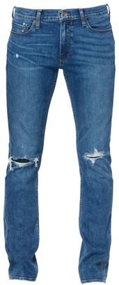 Paige Lennox Slim-Fit Distressed Jeans