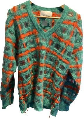 Esteban Cortazar Green Wool Knitwear