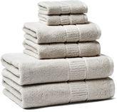 Peacock Alley 6-Pc Dublin Towel Set, Platinum
