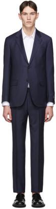 Ermenegildo Zegna Navy Wool Milano Easy Suit