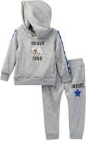 Diesel Hoodie & Sweatpant Set (Baby Boys)