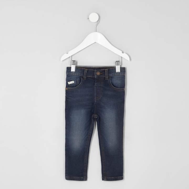 Mens Mini boys dark Blue Sid skinny jeans