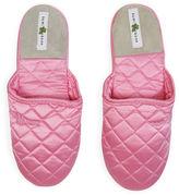 Kumi Kookoon Silk Slippers, Pink Icing