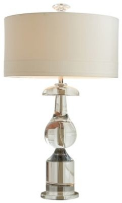 Global Views Classic Bulb Crystal Table Lamp