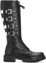 Cesare Paciotti buckled boots
