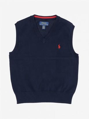 Polo Ralph Lauren Toddler Vest With Logo