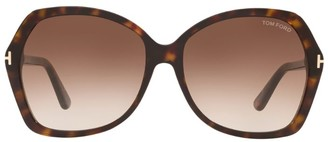 Tom Ford Carola Butterfly Sunglasses