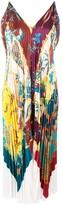 Salvatore Ferragamo Sumatra pleated dress