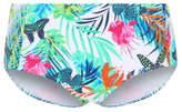 George Tropical Print Mid Rise Bikini Bottoms