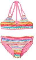 YMI Jeanswear Girls' Playland 2pc Swimsuit.