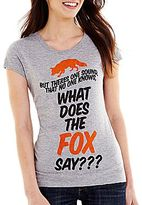 JCPenney What Does The Fox Say Graphic Tee