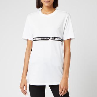Armani Exchange Women's Logo Tape T-Shirt