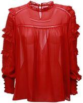 Isabel Marant Pleated Sleeve Blouse