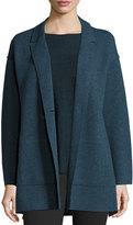 Eileen Fisher Felted Merino Boyfriend Jacket, Plus Size