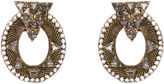 Nicole Romano Caboto Mesh Oval Earrings