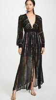 Rococo Sand Sequin Long Dress