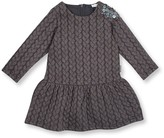 Le Top Shoulder Sparkle Drop Waist Dress (Toddler Girls)
