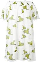 Giamba tiger prints dress - women - Silk/Polyester - 42
