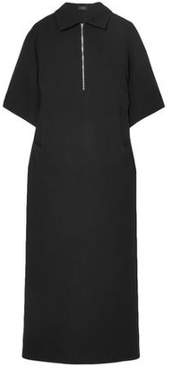 Joseph Fletcher Zip-detailed Crepe Midi Dress