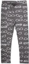 Imoga Jersey Leggings with Metallic Shades-Print, Gray, Size 2-6
