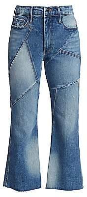 Frame Women's Le Sylvie Kick Boot Mix Jeans