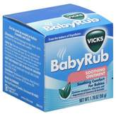 Vicks 1.76 oz. Baby Rub