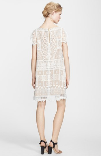 Babydoll Korovilas Embroidered Lace Dress