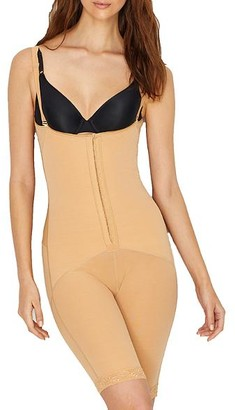 Leonisa Firm Control Open-Bust Mid-Thigh Bodysuit