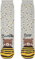 Accessorize Bumble Bear Socks